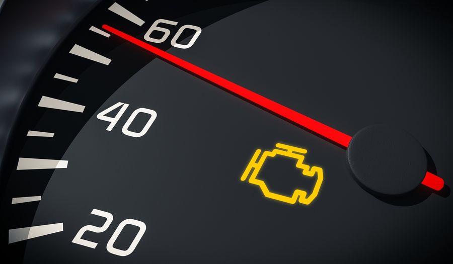 مهمترین دلایل روشن شدن چراغ چک موتور