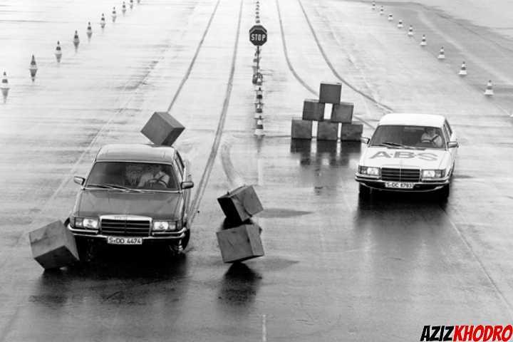 سیستم های ایمنی تاریخ خودروسازی